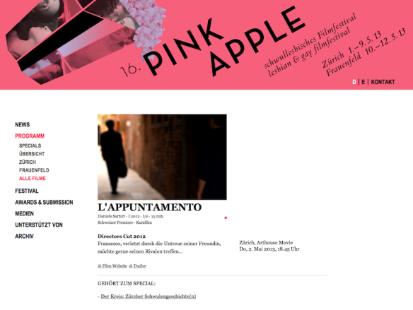 PINK APPLE FILM FESTIVAL