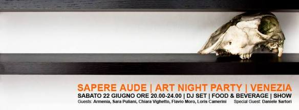 SAPERE AUDE | ART NIGHT PARTY