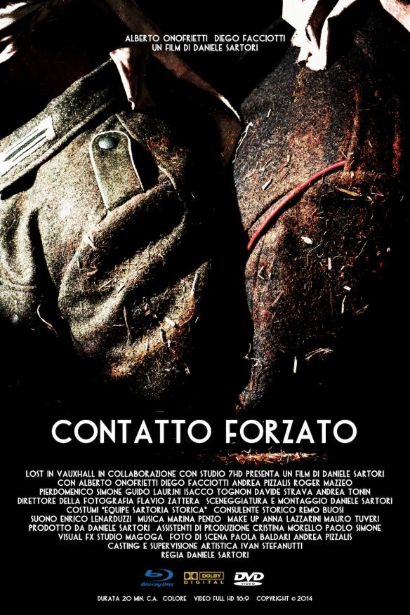 LOCANDINA CONTATTO FORZATO REGIA DANIELE SARTORI